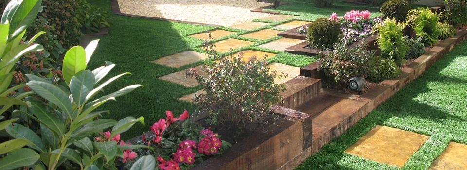 Cesped artificial dise o de jardines 3d cespedjardin - Diseno jardines 3d ...